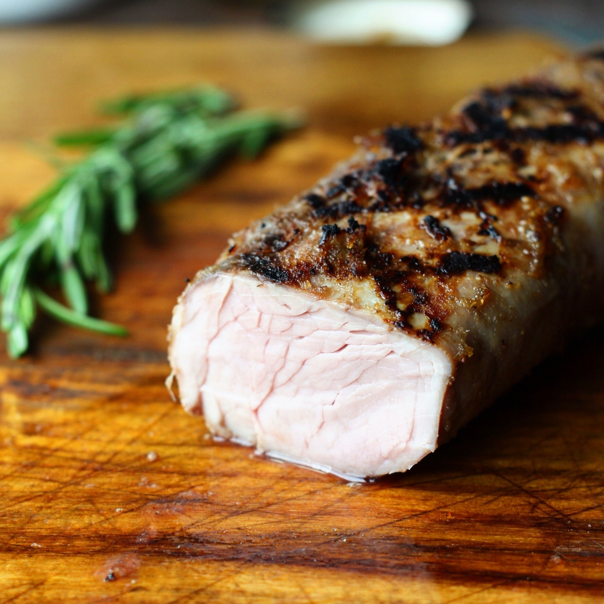 Butter Pork Tenderloin: Sous Vide Apple Butter Pork Tenderloin