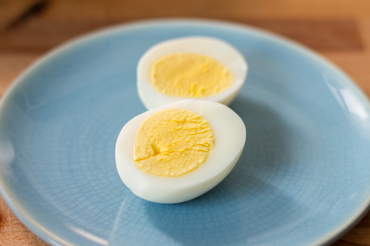 Sous Vide Hardboiled Eggs