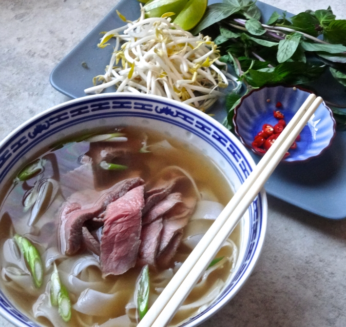 Vietnamese Pho with Sous Vide Beef